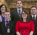 Interns in Washington State Legislative Internship Program