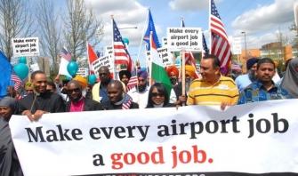 SeaTac wage demonstrators, courtesy reclaimtheamericandream.org.