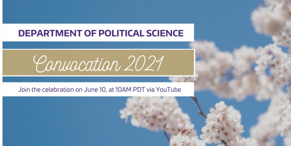 2021 Political Science Convocation