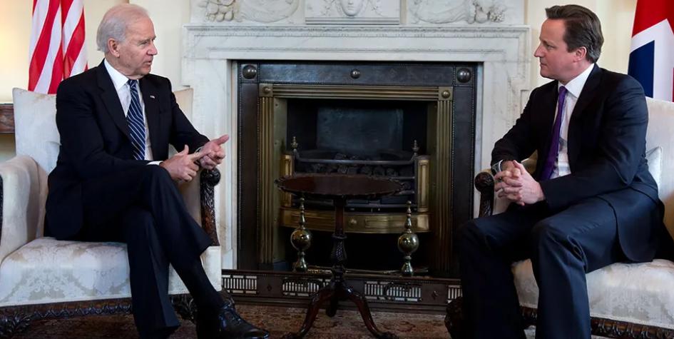 Biden and Cameron