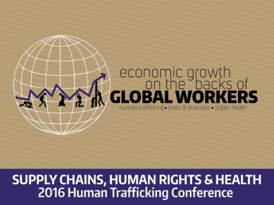 2016 Human Trafficking Conference Flyer