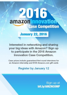 Amazon Case Competition Flyer