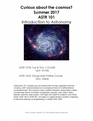 Recent Astronomy News