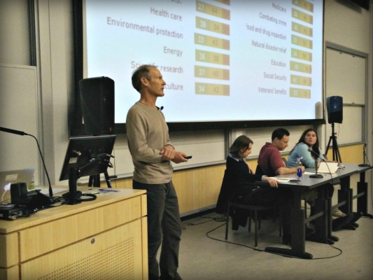 John Wilkerson Presentation Faculty Panel 2016 Election