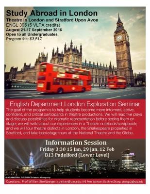 early fall in london