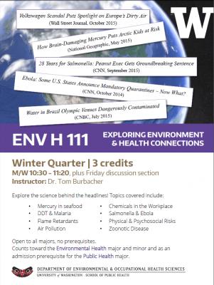 ENV H 111 Flyer