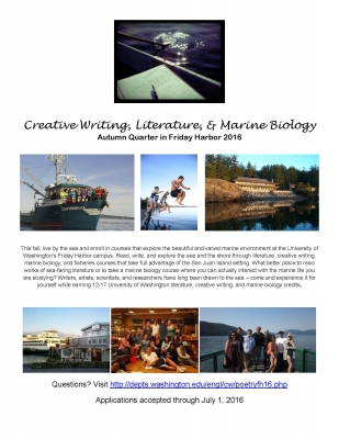 Literature and creative writing courses