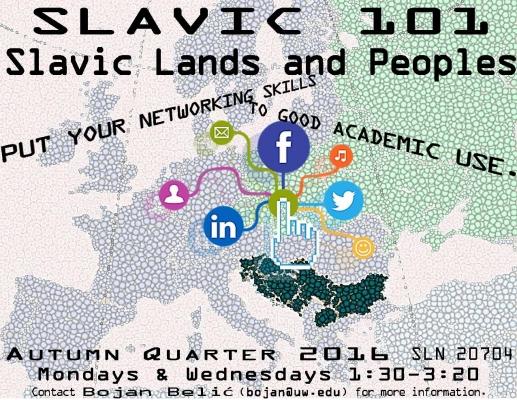 Slavic 101 - Course Flyer