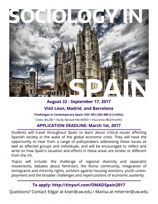 Study Abroad | Department of Sociology