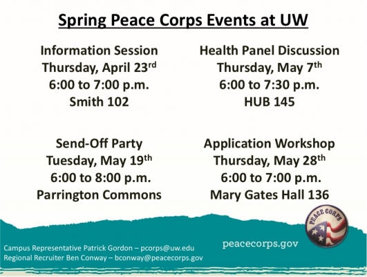 Peace Corps Events