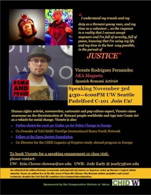Activist Vicente Rodriguez Fernandez to speak at UW - Flyer