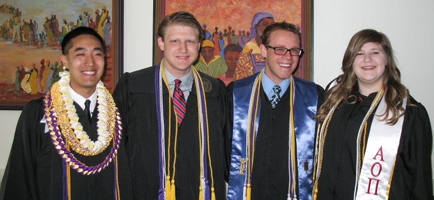 Undergraduate Award Winners & Speaker