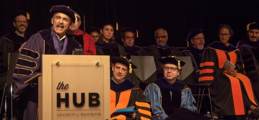 Distinguished Alumnus Award winner Carver Clark Gayton