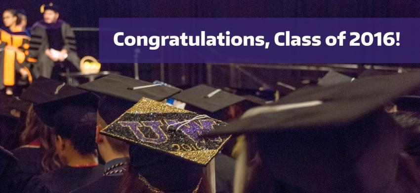 2016 Convocation - Congratulations, Class of 2016!