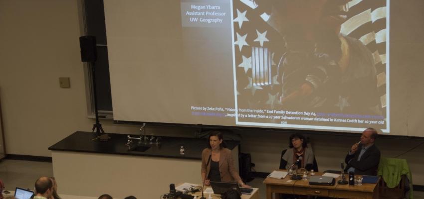 Geography Professor Megan Ybarra
