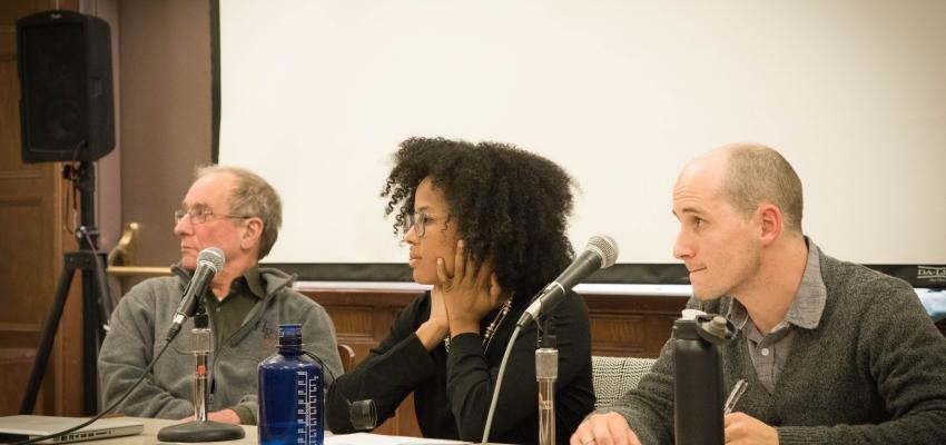 Professor Goldberg, Francis, and Wallace