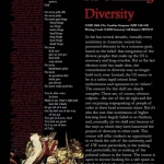 CHID 260A - Rethinking Diversity
