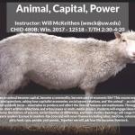CHID 480B - Animal, Capital, Power