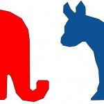 Elephant and Donkey