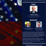 Pushback: The China Challenge - talk Nov 19th