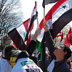 Syria protest: freedom