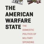 """Book cover """"The American Warfare State"""""""