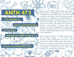 ANTH 473 Flyer