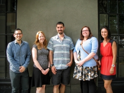 Grad Student Award Winners