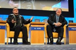 Bono and Al Gore