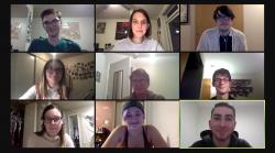 Screenshot of CAPPP Zoom Meeting
