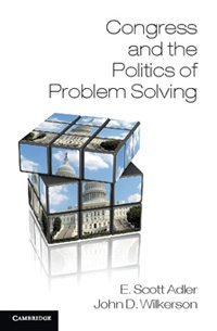 Congress and the Politics of Problem Solving book cover