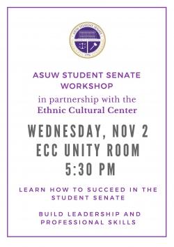 ASUW Student Senate Workshop - November 2