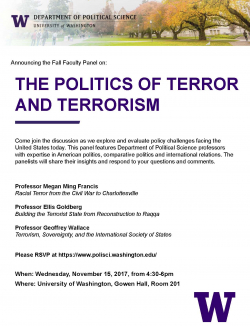 Fall Faculty Panel Flyer