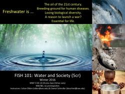 FISH 101 - Water & Society