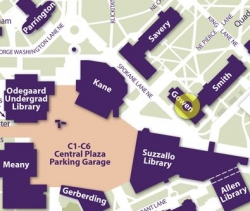 Gowen Hall on map
