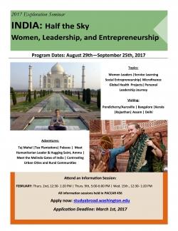 India Exploration Seminar - Half the Sky India
