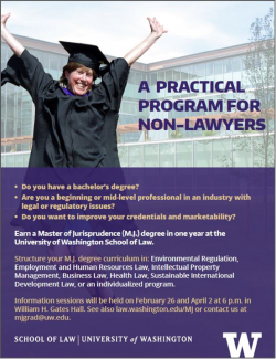 A practical program for non-lawyers