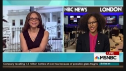 Prof. Megan Ming Francis with Melissa Harris-Perry