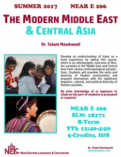 NEAR E 266: Middle East and Central Asia