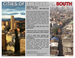 URBDP 498B/598B - Cities of the Global South Poster