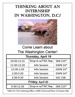 TWC Info Sessions Flyer