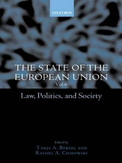 Law, Politics & Society: State of the European Union (Oxford University Press, 2003) (with T. Börzel)