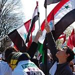 Syria protest: freedom