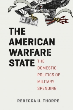 "Book cover ""The American Warfare State"""