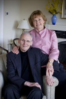 Richard B. Wesley and his wife