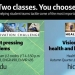 Two innovation practicum courses fall quarter - Flyer