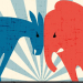 DonkeyVsElephant_Political Party image