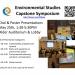 Environmental Studies Capstone Symposium Flyer