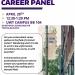 Criminal Justice Career Panel Flyer