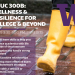 EDUC 300B: Wellness & Resilience for College & Beyond